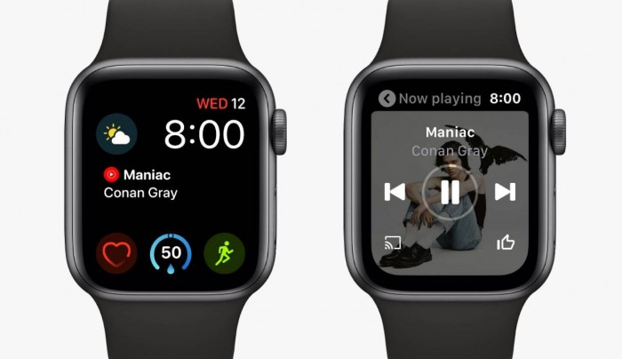 YouTube Music正式登陆Apple Watch