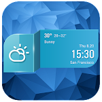 Rainy day weather app .