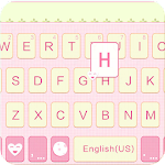 Lovely Girl for Emoji Keyboard