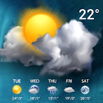 Live Weather Forecast Widget