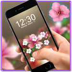 Pink Flower AppLock Theme