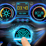 Racing Car Dashboard Fingerprint Locker Prank
