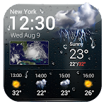 Free weather forecast app& widget .