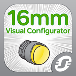 16mm Operator Interface Visual Product Configurator