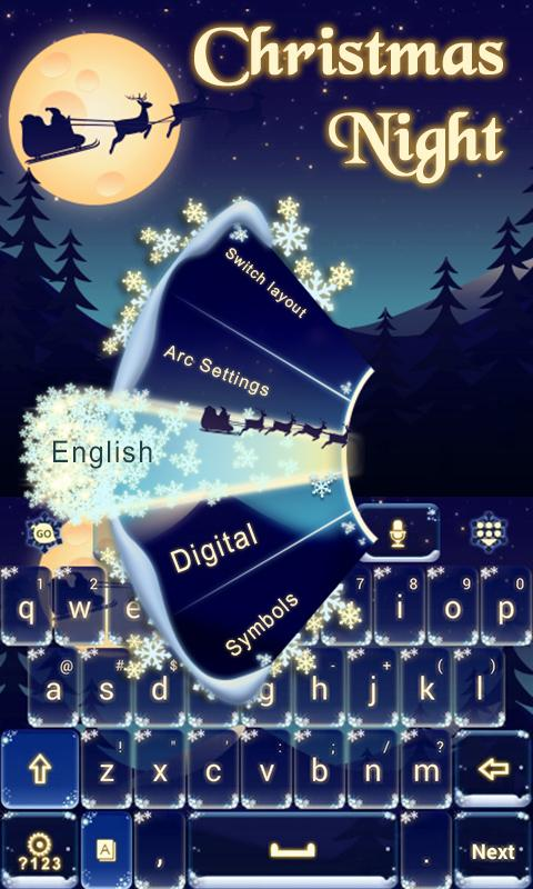Christmas Night Keyboard Theme