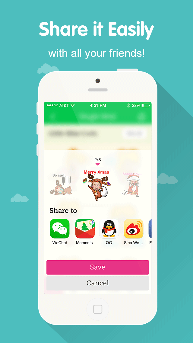 MojiMe for WeChat