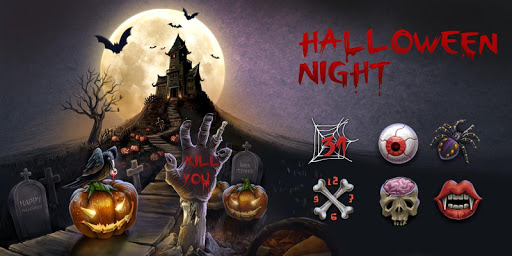 Halloween Night GO Theme