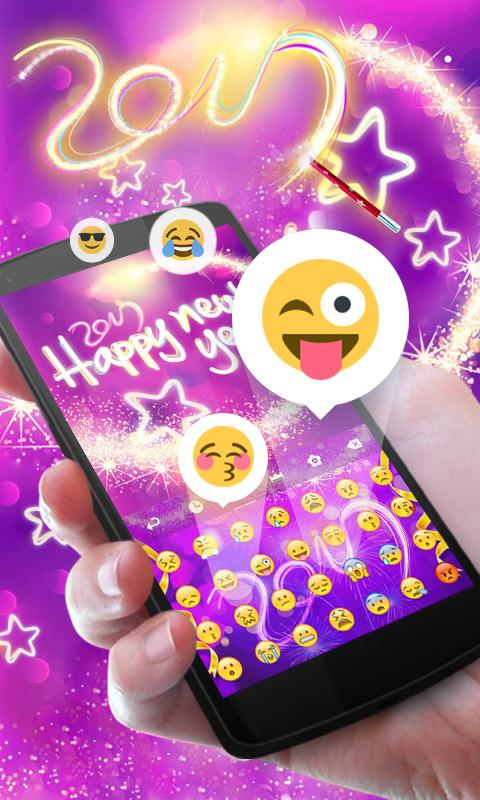 2017 GO Keyboard Theme & Emoji
