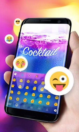 Cocktail GO Keyboard Theme