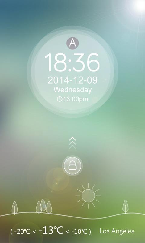 Round Thin GO Locker Theme