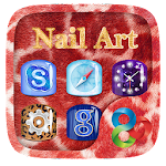 Nail Art GO Launcher Theme