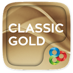 Classic Gold GO Launcher Theme