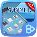 Summer   Go Launcher Theme