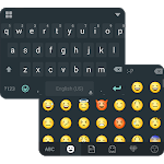 Classic Black Keyboard Theme
