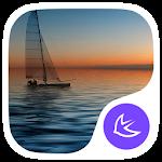 The Sunset-APUS Launcher theme
