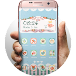Afternoon Tea Launcher Theme