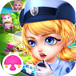 Town Policewoman: Dressup&Care