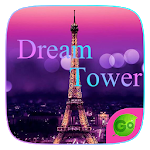 Dream Tower GO Keyboard Theme