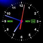 精美模拟时钟风格动态壁纸