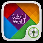 Colorful world GO Locker Theme