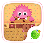 Cookie Monster Keyboard Theme