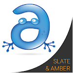 Slate and Amber Keyboard Theme